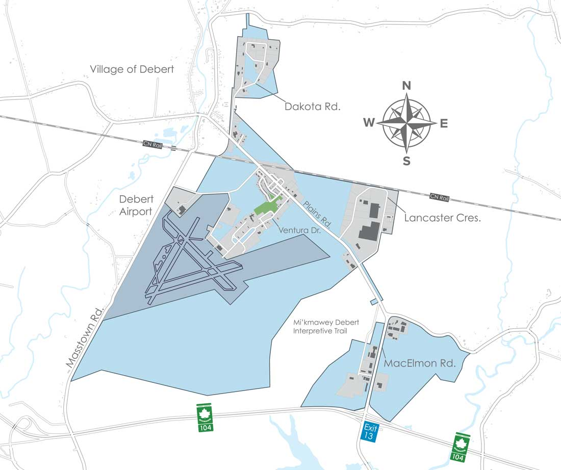 Debert Business Park Map